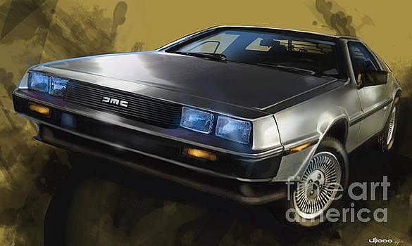 DMC Sports Car by Uli Gonzalez