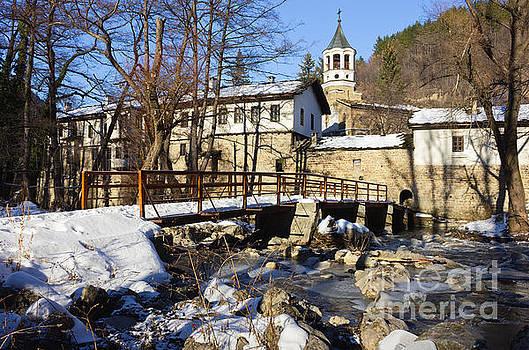 Dryanovo Monastery in the Winter by Kiril Stanchev