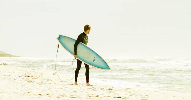 Early Surf by Lindy Brown