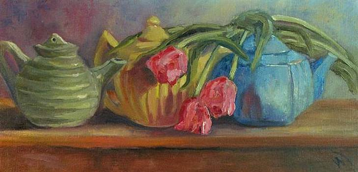 Easter Parade by Wendie Thompson