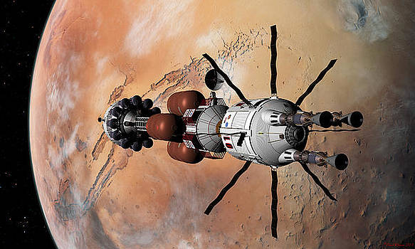 Explorer at Mars Part 1 by David Robinson