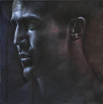 Face Study in the Dark by Chris Lopez
