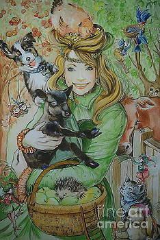 Fairy Hoppert by Ottilia Zakany