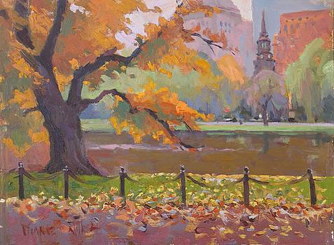 Falling Leaves by Dianne Panarelli Miller