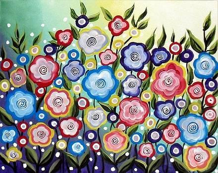Field of Poppies by Susan Wahlfeldt