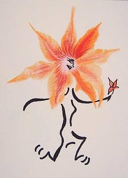 Flower Runner by Janice W Deetscreek