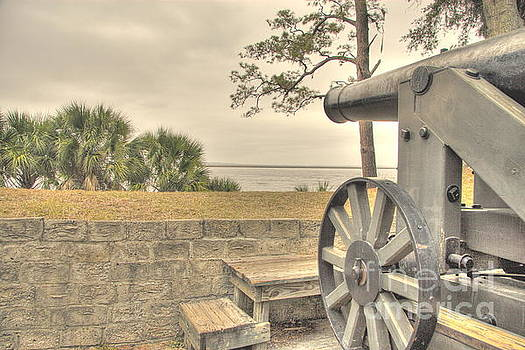 Fort McAllister Cannon by Jonathan Harper