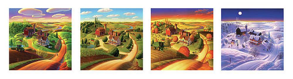 Four Seasons on the Farm by Robin Moline