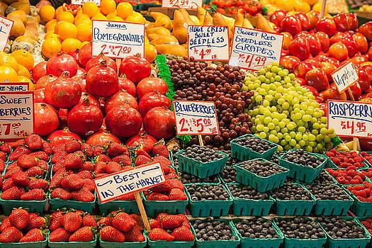 Fruit Stand 2 by Paul Bartoszek