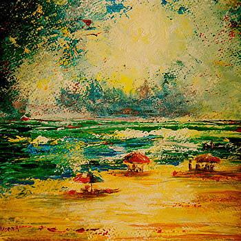 Gabriel's Beach by Julee Nicklaus