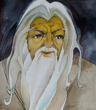 Gandalf The White by Patricia Howitt