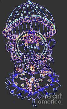 Ganesh Elephant Goddess by Jessica Petty