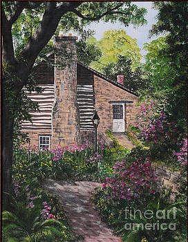 Garden at Pendarvis Mineral Point Wisconsin  2 by Rita Miller