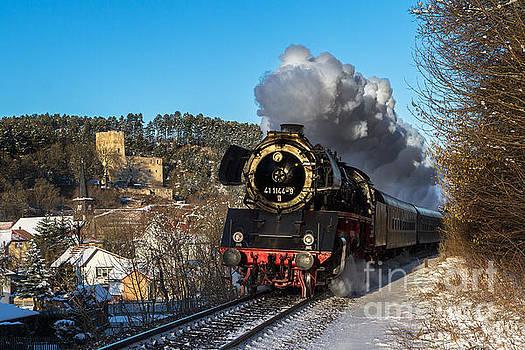 German Mikado 41 1144 full steam ahead by Christian Spiller