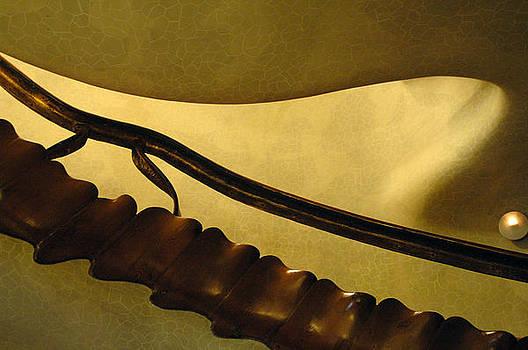 Goudi Staircase by Kathy Schumann