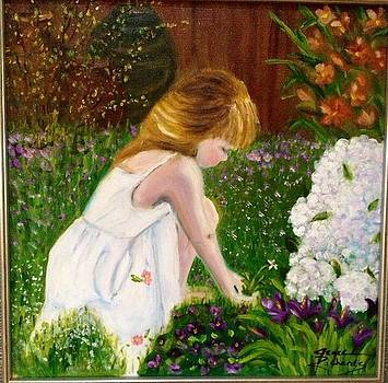 Grace in the garden by Jenell Richards