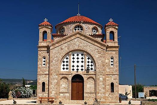 Greek church by Ivelina Angelova