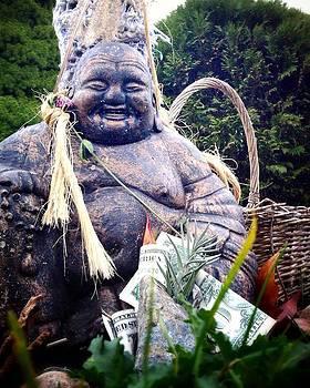 Happy Buddha  by Lisa  Esposito