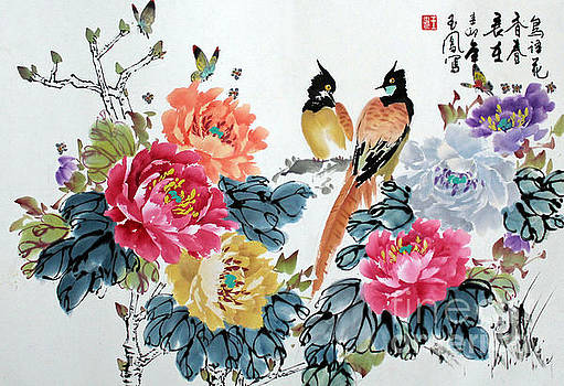Harmony and Lasting Spring by Yufeng Wang