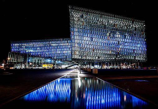 Harpa concert hall by Petur Mar Gunnarsson