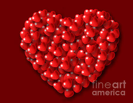 Heart shaped Hearts by Kiril Stanchev