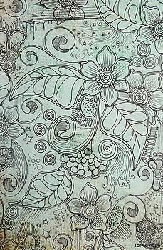 Henna Pattern by Salwa  Najm