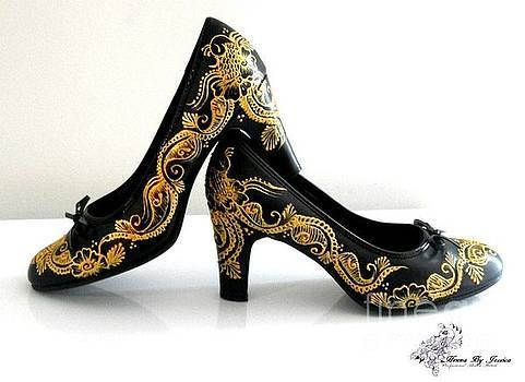 Henna Shoe by Jessica Petty