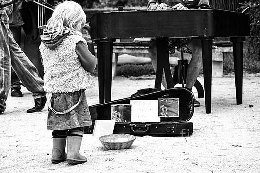 Hippie Girl by John Jamriska