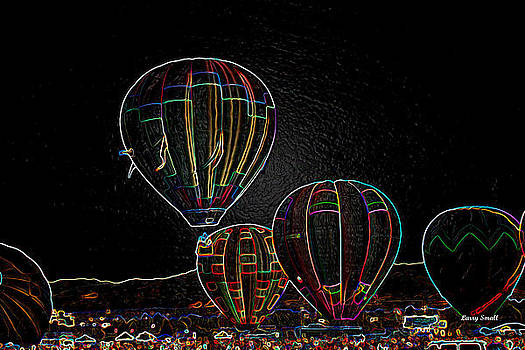 Hot Air Balloons I by Larry Small