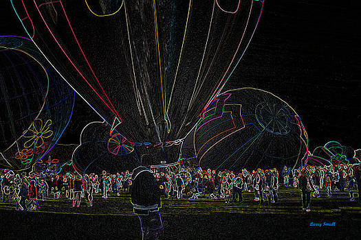 Hot Air Balloons III by Larry Small
