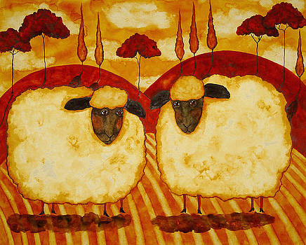 Eweusual Suspects by Debi Hubbs