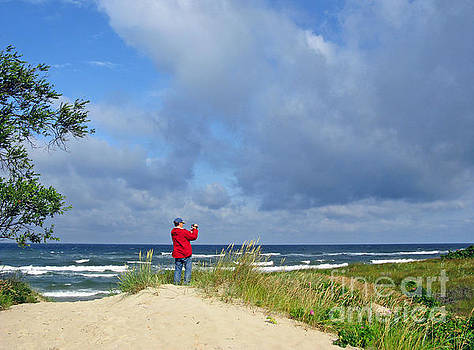 I See The Sea. Juodkrante. Lithuania by Ausra Huntington nee Paulauskaite