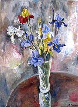 Irises by Andrei Sorokin