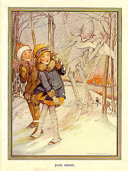 Jack Frost Book Plate by The Advertising Archives
