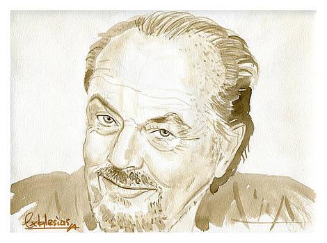 Jack Nicholson by David Iglesias