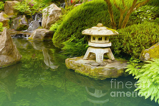 Japanese Garden by Nur Roy