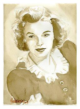 Judy Garland by David Iglesias