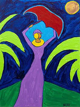 Lady in Lavender by Marlene MALKA Harris