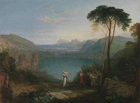 Lake Avernus by Jospeh William Mallord Turner