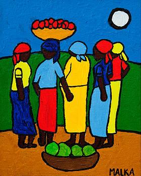 Les Femmes I by Marlene MALKA Harris