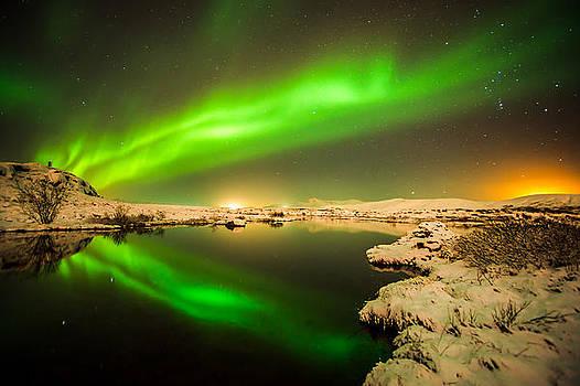 Light display  by Petur Mar Gunnarsson