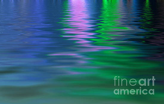 Light reflecting on water  by Cheryl Casey