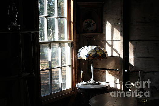 Light Through Cabin Window by Theresa Willingham