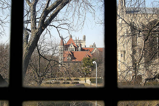 Looking past the Window  by Eugene Bergeron