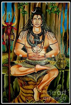 Lord Shiva  by Ravi Kumar