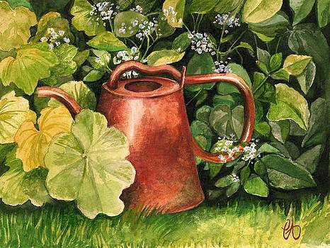 Lost Watering Can by Carrie Auwaerter