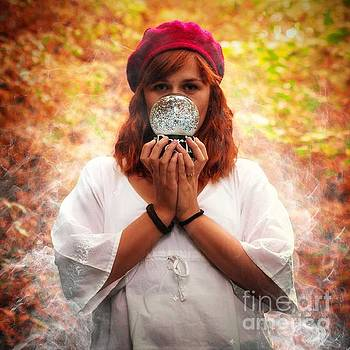 Magic Girl by John Jamriska