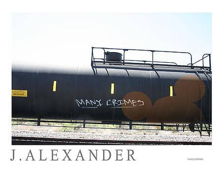 Many Crimes by Jeff Alexander