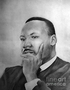Martin Luther King Thinking by Joe Roache