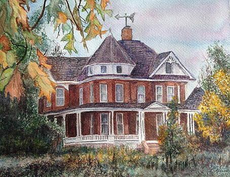 Mary C. Wells' Home by Carol Warner